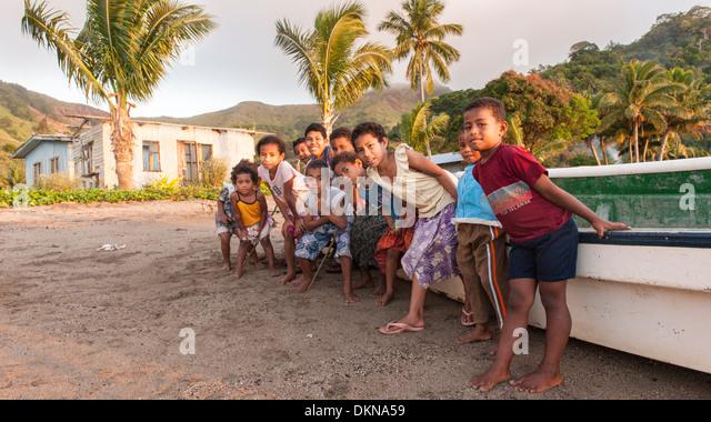 fijian women on the beach