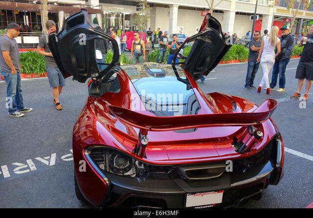 San Jose, California   23 August, 2014 A Rare 2015 McLaren P1 Plug