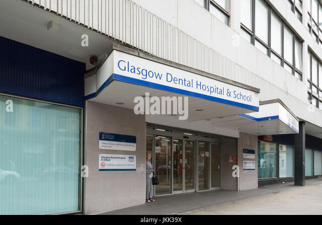 Glasgow Dental Hospital - Stock Image