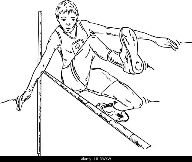 sport sports colour illustration paint draw cartoon humans - Sports Pictures To Colour