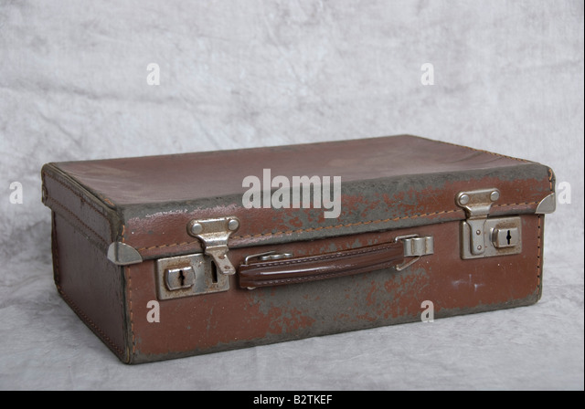 Small Leather Suitcase Stock Photos & Small Leather Suitcase Stock ...