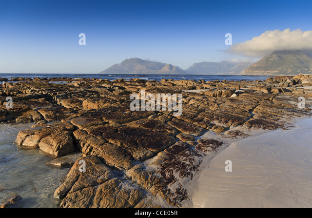 Cape town beach relax stock photos cape town beach relax for Landscaping rocks cape town