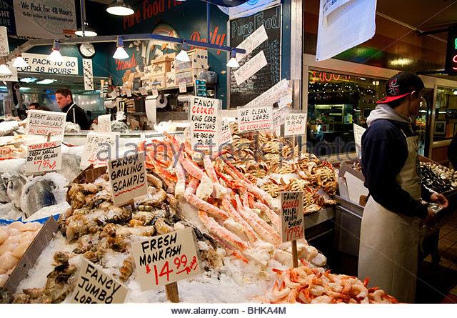 Fish market usa stock photos fish market usa stock for Fish market cincinnati
