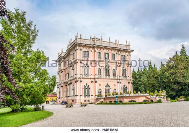 Varese Italien garden villa ponti varese italy stock photos garden villa ponti
