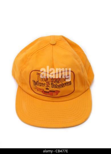 beatles baseball hat yellow submarine cap