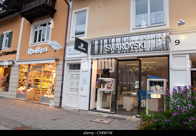 swarovski store stock photos swarovski store stock. Black Bedroom Furniture Sets. Home Design Ideas