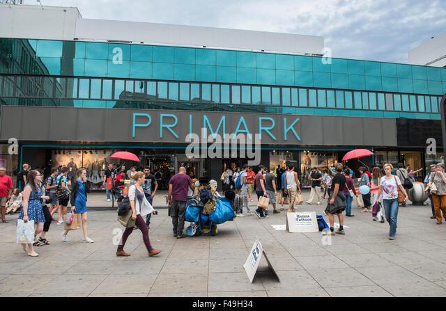 germany berlin alexanderplatz primark store stock image - Primark Online Bewerbung