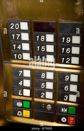 Buttons On Elevator Panel Show No 13th Floor Humoring Those Who Think 13 Is  An Unlucky