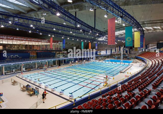 Canada Quebec Province Montreal Olympic Park The Renovated Pool Complex