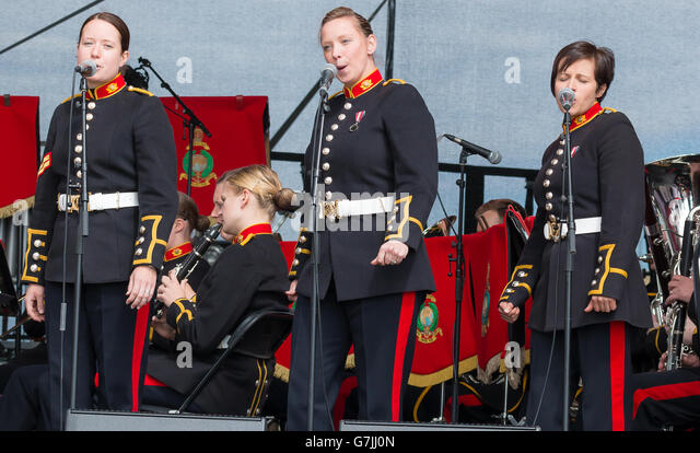 British Army Women Stock Photos