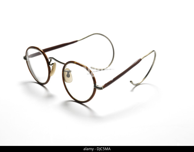 Old Fashioned Glasses Frame : Wire Rimmed Glasses Stock Photos & Wire Rimmed Glasses ...