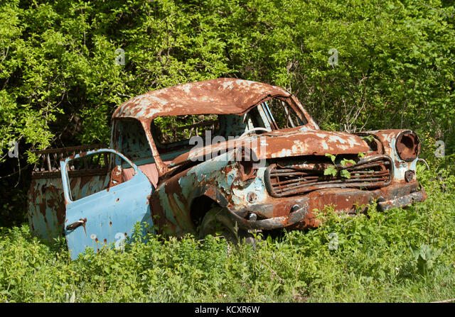 interior old abandoned truck stock photos interior old abandoned truck stock images alamy. Black Bedroom Furniture Sets. Home Design Ideas