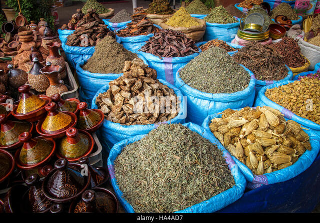 morocco spices stock photos & morocco spices stock images - alamy