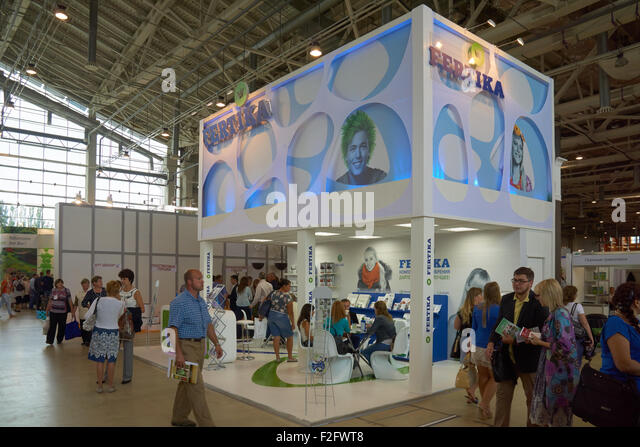 Exhibition Stand Russia : Exhibition stand stock photos