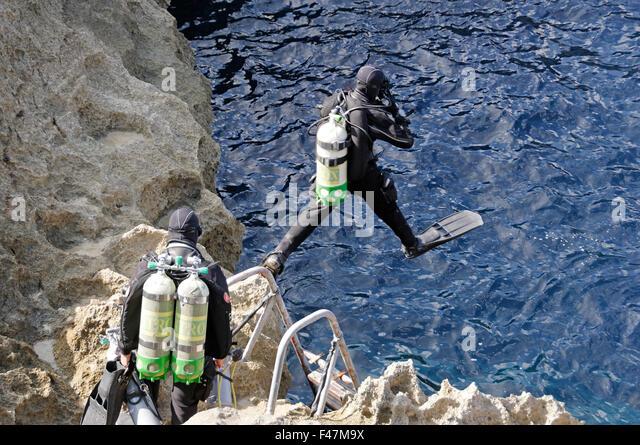 Tri Mix Scuba Diving : Technical scuba diving stock photos