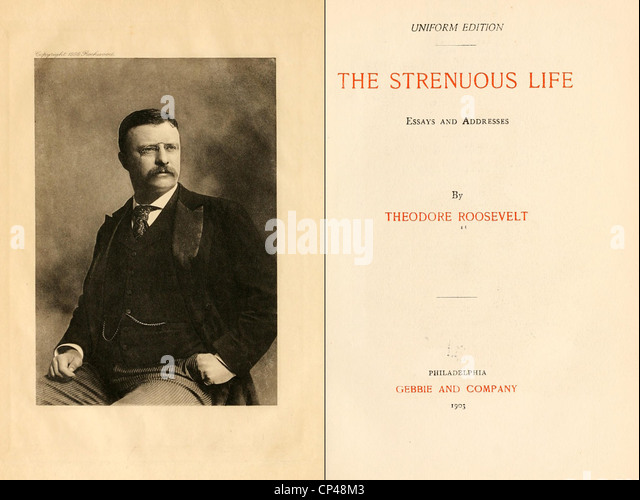 essays stock photos  amp  essays stock images   alamythe strenous life essays and addresses by theodore roosevelt was first published in   frontispiece
