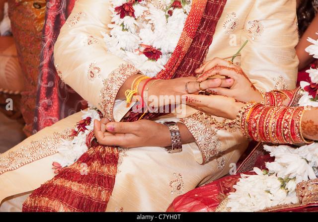 Ring finger hindu wedding