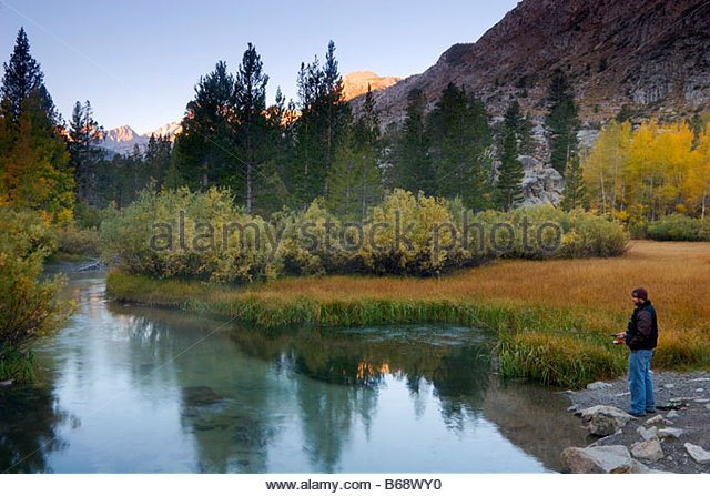 Lake sabrina stock photos lake sabrina stock images alamy for Eastern sierra fishing