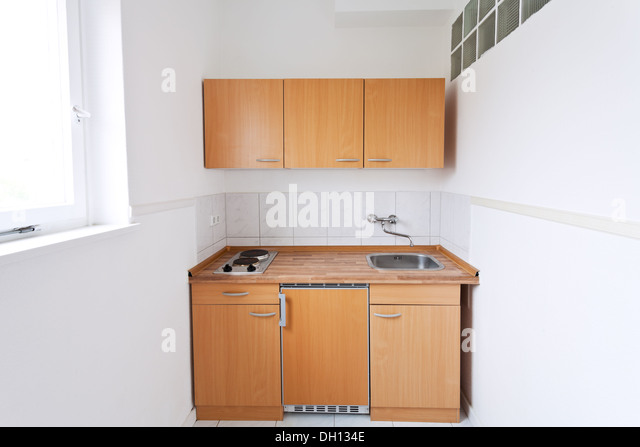 Wooden Kitchen Dresser Stock Photos Wooden Kitchen