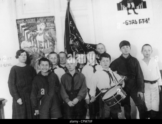 Image result for Communist youth in USSR