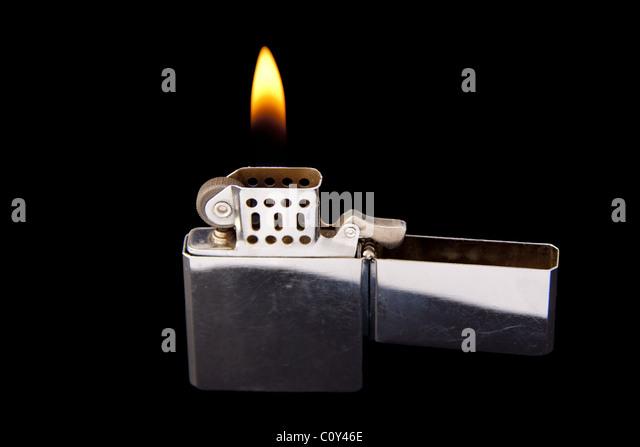 Zippo Lighter Flame Stock Photos & Zippo Lighter Flame Stock Images - Alamy