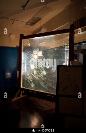 Military Planning Room - Stock Image