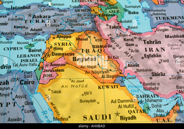 Uae map stock photos uae map stock images alamy illustrated world map with countries and continents stock image gumiabroncs Choice Image