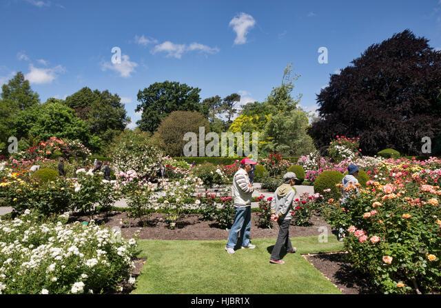 Botanic gardens christchurch new zealand stock photos for Landscape gardeners christchurch