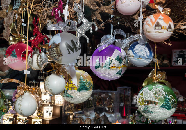 Christmas Baubles Germany : Baubles travel stock photos images
