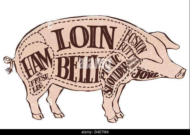 Cuts Of Meat Diagram Stock Photos & Cuts Of Meat Diagram Stock ...