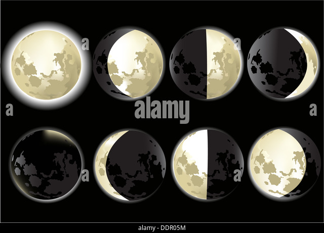Moon Phases Stock Photos & Moon Phases Stock Images - Alamy