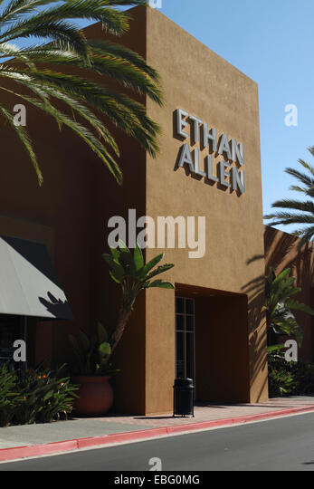 The exterior of an Ethan Allen furniture and home furnishings store in  Tustin Orange county California. Furniture Chain Stock Photos   Furniture Chain Stock Images   Alamy
