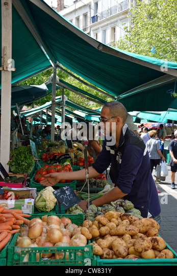 Massilia stock photos massilia stock images alamy for Outdoor food market