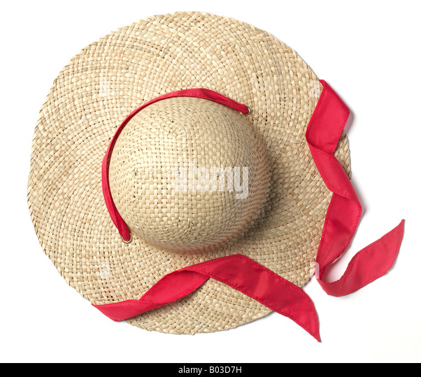 how to make a bonnet out of a straw hat
