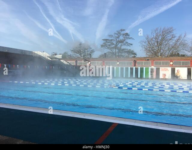 Outdoor Heated Swimming Pool Stock Photos Outdoor Heated Swimming Pool Stock Images Alamy