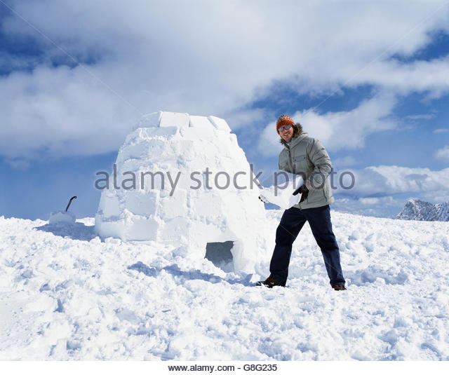 Ice Block Igloo Stock Photos Ice Block Igloo Stock