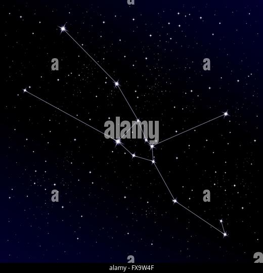 Constellation Map Stock Photos & Constellation Map Stock ...