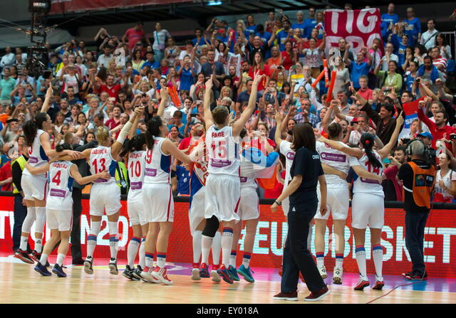 Championnat deurope stock photos championnat deurope stock images alamy - Coupe d europe basket feminin ...
