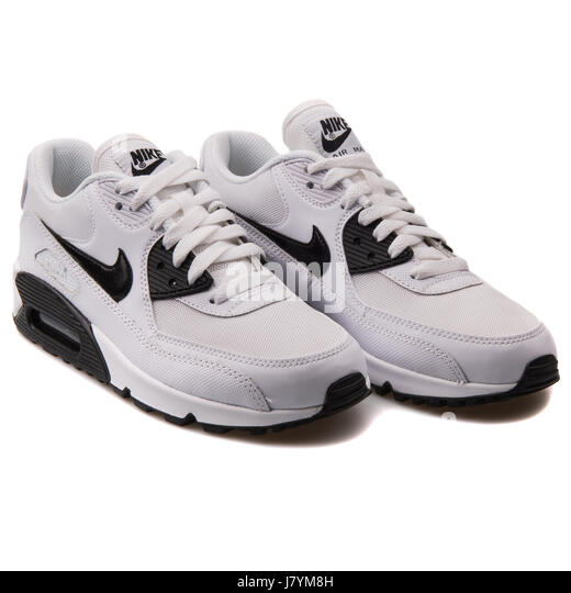 260e021a Nike WMNS Air Max 90 Essential White Women's Sports Sneakers Stock Photo:  142594161 - Alamy