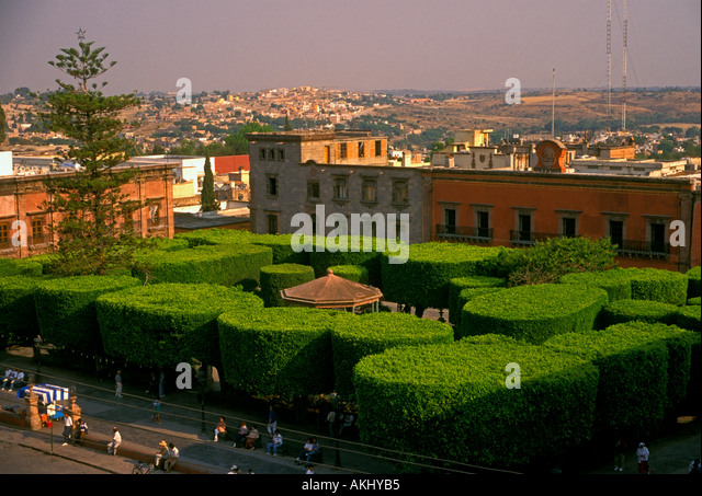 El zocalo stock photos el zocalo stock images alamy for Jardin san miguel de allende