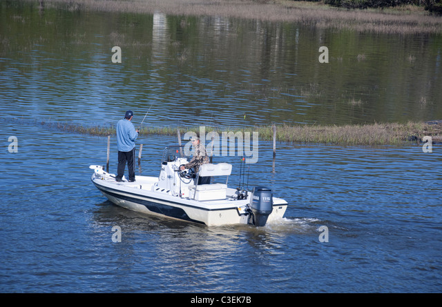 Intracoastal waterway south carolina stock photos for South carolina fishing