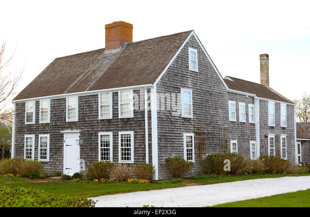 Nantucket downtown stock photos nantucket downtown stock for Nantucket shingles