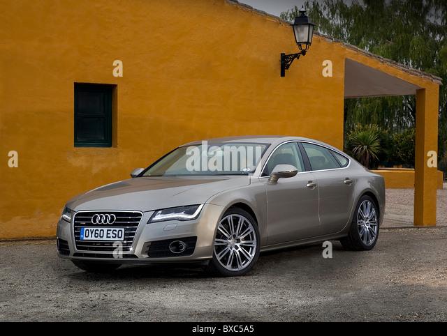 Audi A7 Sportback   Stock Image