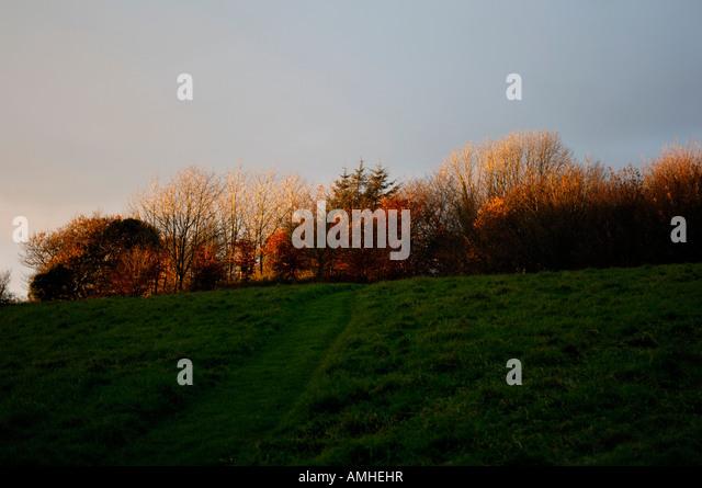 fiery glow burning sunset - photo #31