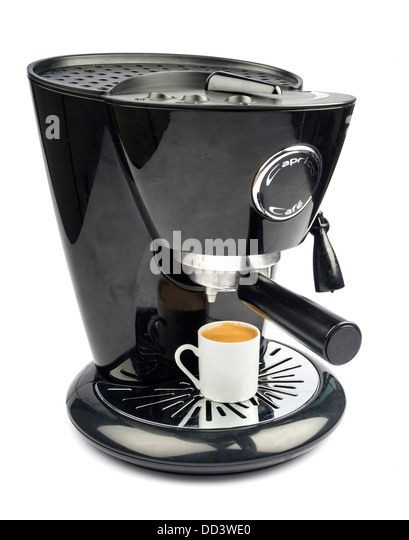 White Electric Coffee Maker : Espresso Machines Stock Photos & Espresso Machines Stock Images - Alamy