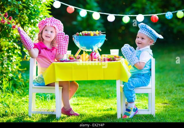 Big Brother Backyard Bbq : Backyard Party Kids Stock Photos & Backyard Party Kids Stock Images