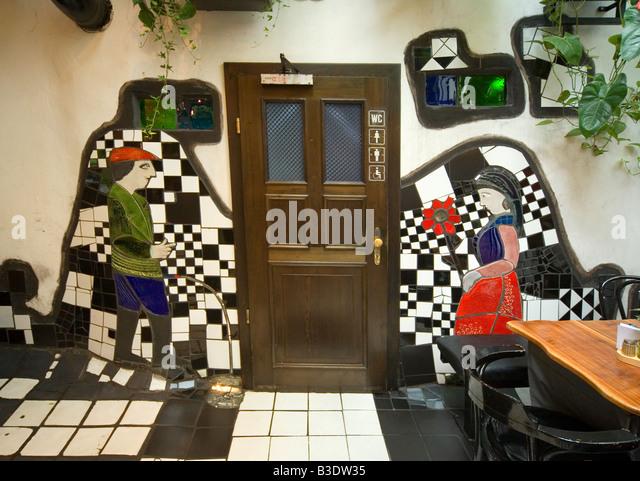 Austria Vienna Hundertwasser Restaurant Toilet