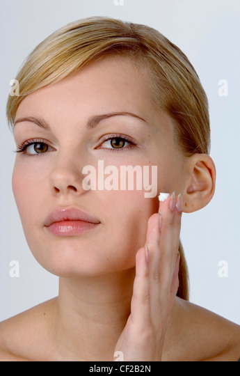 applying facial in make picture step up