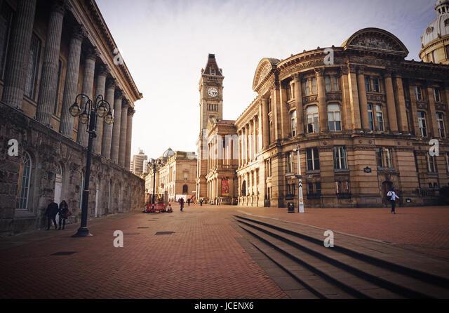 Victoria Square in Birmingham. Birmingham UK - Stock Image