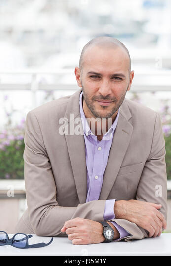 CANNES, FRANCE - MAY 18: Director Mohamed Diab attends Jury Un Certain Regard Photocall during the 70th annual Cannes - Stock Image